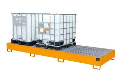 Auffangwanne AW 1000-3, orange RAL 2000