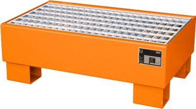 Auffangwanne AW 60-1/M orange RAL2000