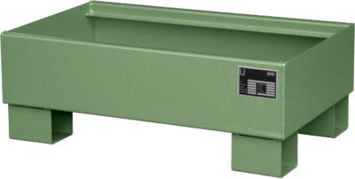 Auffangwanne AW60-1 grün RAL6011