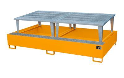 Auffangwanne AWA 1000-2, orange RAL 2000