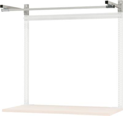 Ausleger für Tischbreite 1500 mm, pulverbeschichteter Stahl