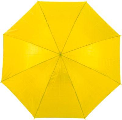 Automatik-Stockschirm Cascade, inkl. 1 farbigem Werbedruck und Grundkosten gratis, gelb