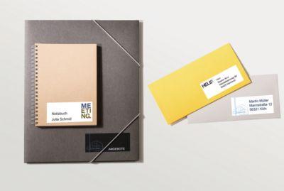 AVERY Doelvorm Universele etiketten 6172, 64,6 x 33,8 mm, 600 + 120 stuks.