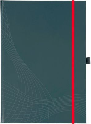 AVERY Zweckform Notizbuch Notizio 7027, Hardcover, DIN A5, kariert