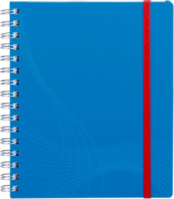 AVERY ZWECKFORM Notizbuch Notizio 7033,  PP, 90 Blatt, DIN A5, kariert, blau