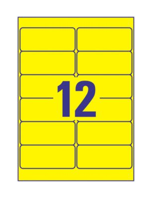 AVERY Zweckform Ultra-sterke witte etiketten L4776-20, 99,1 x 42,3 mm, wit