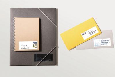 AVERY Zweckform Universal-Etiketten 6123, 120 Stück