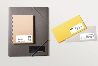 AVERY Zweckform Universal-Etiketten 6172, 64,6 x 33,8 mm, 600 + 120 Stück