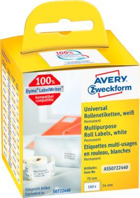 AVERY® Zweckform Universal-Etiketten Nr. ASS0722440, 1 x 160