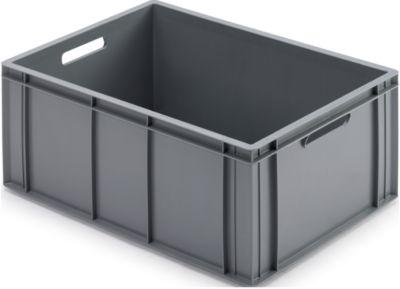 Bakken voor isolatieboxen, gesloten, grijs, 55 l