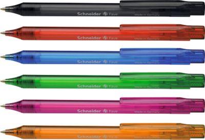Balpen Fave 770, diverse kleuren, 50 stuks