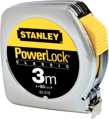 Bandmaß PowerLock®, Metallgehäuse, 3m