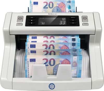 Bankbiljetteller en testapparaat Safescan 2250, met 3-voudige valsheidsdetectie