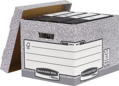 Bankers Box®archiefopbergdoos met apart deksel, belastbaar 12 kg, 10 stuks