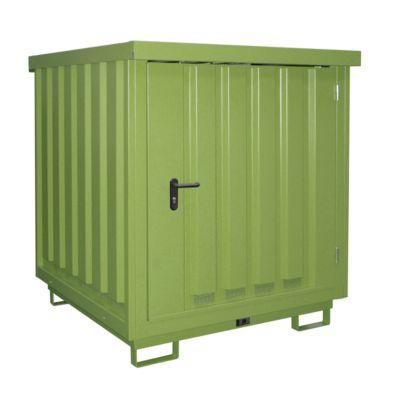 Bauer Gefahrstoff-Depot TYP GD-E, abschließbar, Grün