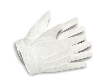 Baumwoll-Trikot-Handschuh Gr. 10