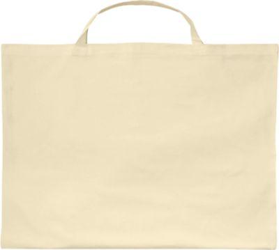 Baumwolltasche Big Bag, natur, inkl. 1-farbigem Werbedruck und Grundkosten