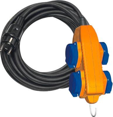 Baustellenkabel brennenstuhl® IP 54 mit Powerblock, 10 m