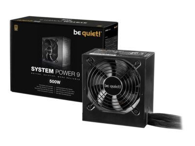 be quiet! System Power 9 500W - Stromversorgung - 500 Watt