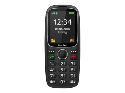 Bea-fon Silver Line SL360 - Schwarz - GSM - Mobiltelefon