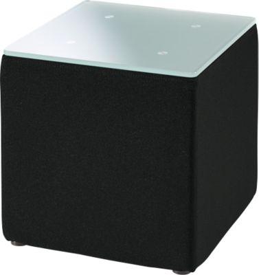 Beistelltisch, B 410 x H 400 mm, schwarz