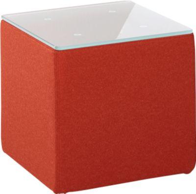 Beistelltisch Wienea, rot