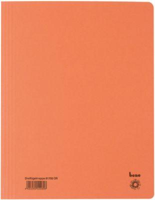 bene Dreiflügelmappe, DIN A4, orange