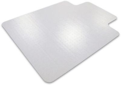 Bescherm.mat v tapijtvloer, hoekig, m. uitsparing, 920x1210