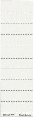 Beschriftungsschildchen für ALPHA Hängeregistratur , 100 Stück