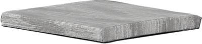 BEST Sitzkissen Rockall, grau, 4er-Set, passend zu Rockall Bänken und Hockern