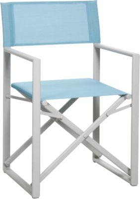 Bestuurdersstoel Messina, crème/lichtblauw