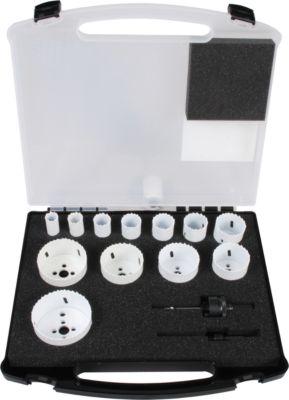 Bi-Metall Lochsägen-Set  Projahn ALLROUNDPLUS, in Hartschalenkoffer, 14-tlg.