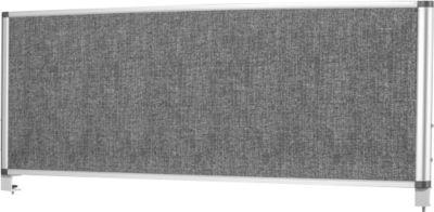 Bi-Office Tischteiler, lärmschützend, mit Tischklemme, 1200x450