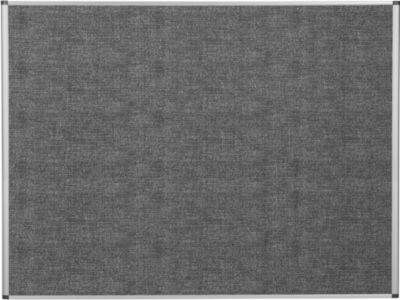 Bi-Office Wandtafel, lärmschützend, Aluminiumrahmen, 1200x900