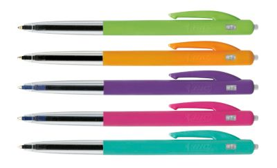 BIC® M10 Balpen Clic, Ultra Colors