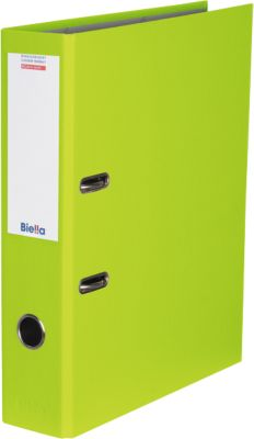 Biella Farbige Bundesordner,  70 mm, hellgrün, 1 St