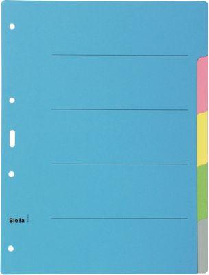 Biella Karton-Register Dinor, 5-teilig