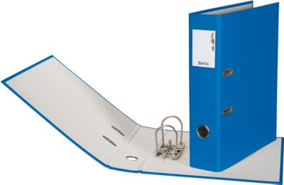 Biella Ordner Plasticolor A4 7cm Blau