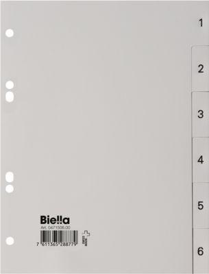 Biella PP Register in A5, 1-6
