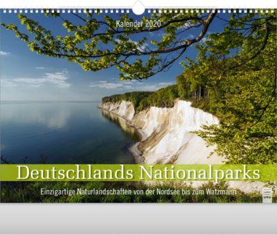 """Bildkalender """"Deutschlands Nationalparks"""", 440 x 360 mm, 4-sprachig, Werbefläche"""