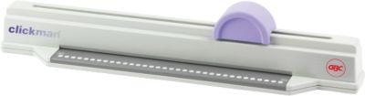 Bindegerät GBC ClickMan, Plastikbindung, bis 95 Blatt, Stanzen 6 Blatt, DIN A4