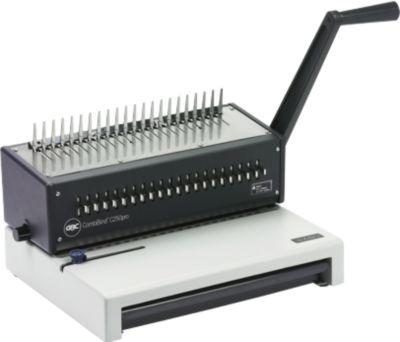 Bindegerät GBC CombBind C250Pro, Plastikbindung 450 Blatt, Stanzen 20 Blatt, A4, A5 und US Letter