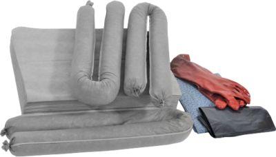 Bindevlies-Notfallset, mit transparenter Tasche, Kapazität 50 Liter, universal