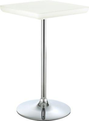 Bistro-Stehtisch COLOR H 1030 mm, weiß/weiß
