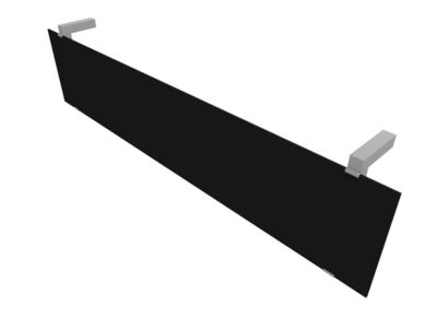 Blende, Acrylglas schwarz, B 1440 mm