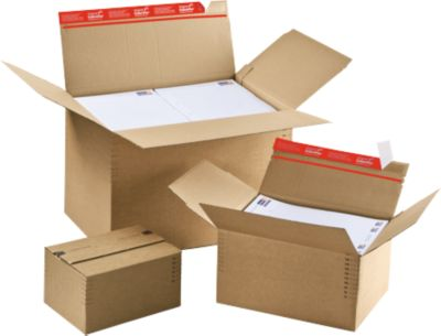 Blitzbodenkartons ColomPac, höhenvariabel, DIN A5