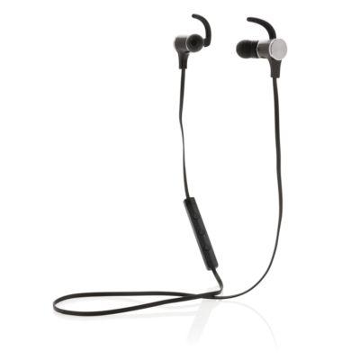 Bluetooth-Kopfhörer, magnetisch, schwarz
