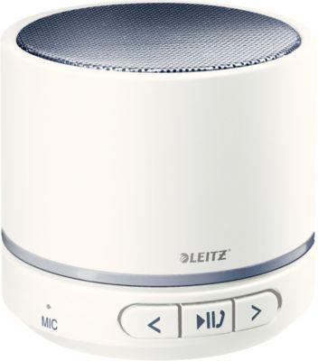 Bluetooth-Lautsprecher Leitz WOW Complete Mini, weiß/grau