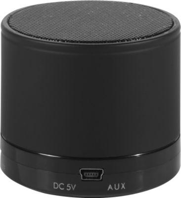 Bluetooth Lautsprecher, mit SD-Kartenslot/AUX/Freisprechfunktion, 3 Watt, schwarz