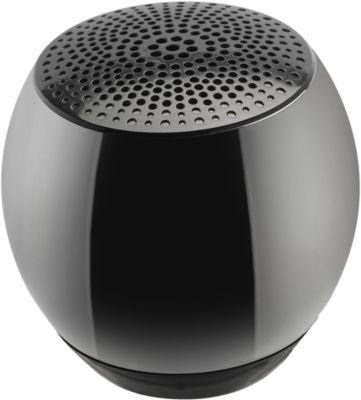 Bluetooth-Lautsprecher Nestler-matho BANG mini, 3 W, BT 4.1, mit Ladekabel, Werbefläche, schwarz